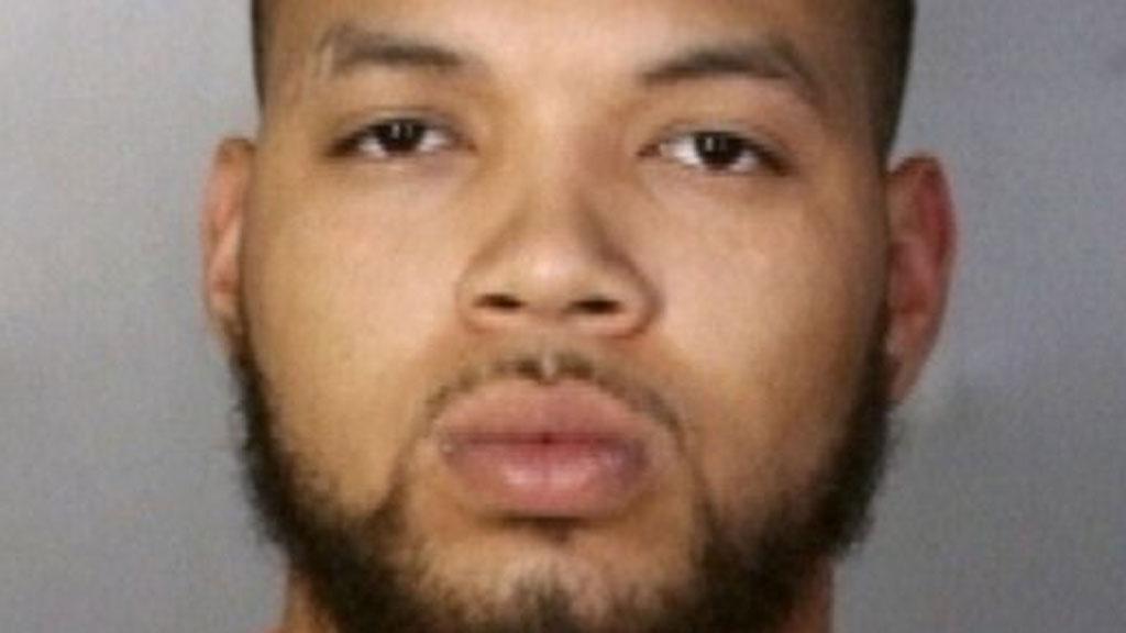 BLODIG: Michael Daniel hadde blod og pels runt munnen da politiet pågrep ham.  (Foto: Pressefoto McLennan County Sheriff's Department)