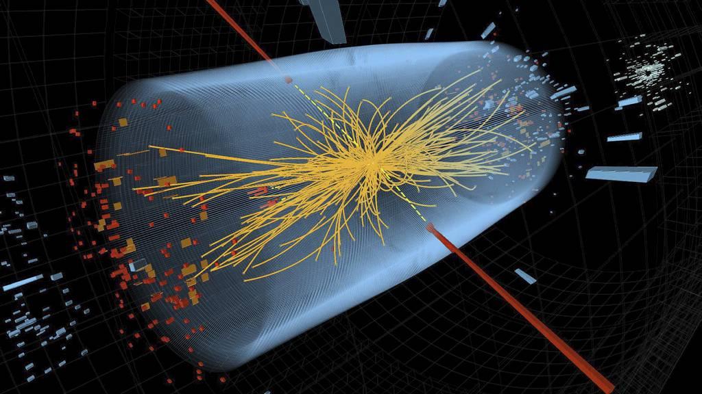 KAPPLØPET: Forskere kjemper om først å kunne påvise Higgs-partikkelen - svaret på hvordan universet ble til. (Foto: HANDOUT/Afp)