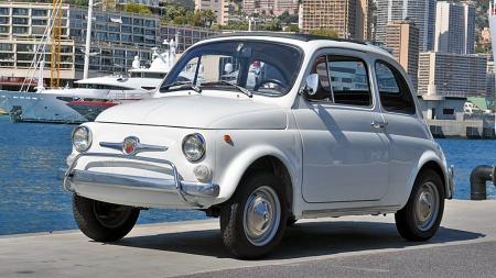 1971 Fiat 500. (Foto: Artcurial)