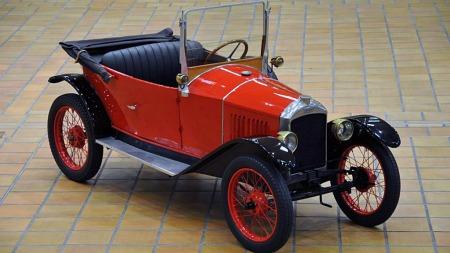 1924 Peugeot 172. (Foto: Artcurial)