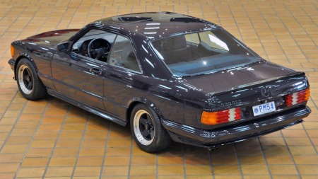 1983 Mercedes 500 SEC AMG. (Foto: Artcurial)