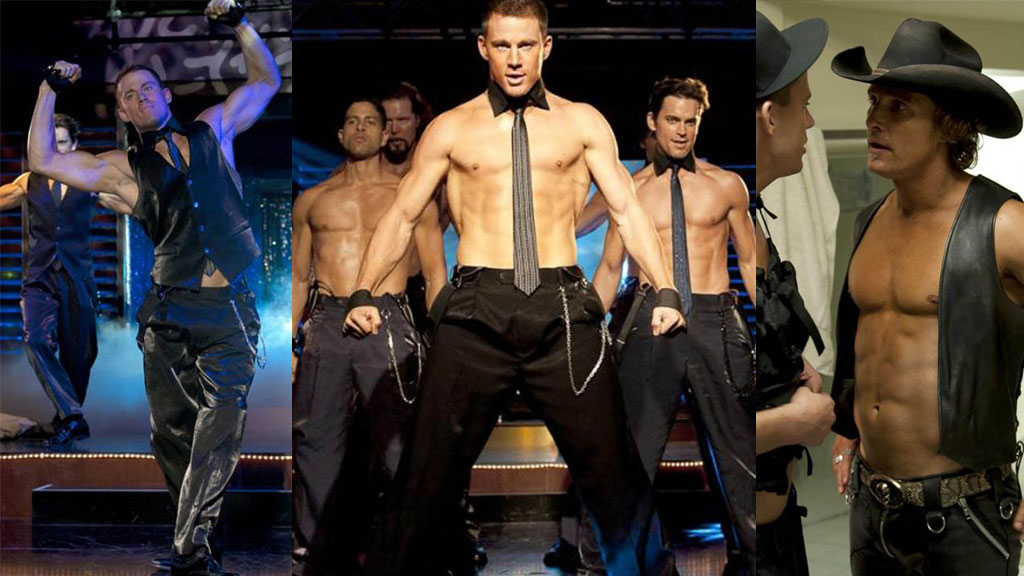 NY FILM: Channing Tatum og Matthew McConaughey er blandt stjernene i en filmen «Magic Mike»
