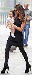 FASJONABEL: Victoria Beckham og datteren ser alltid like stilige ut.