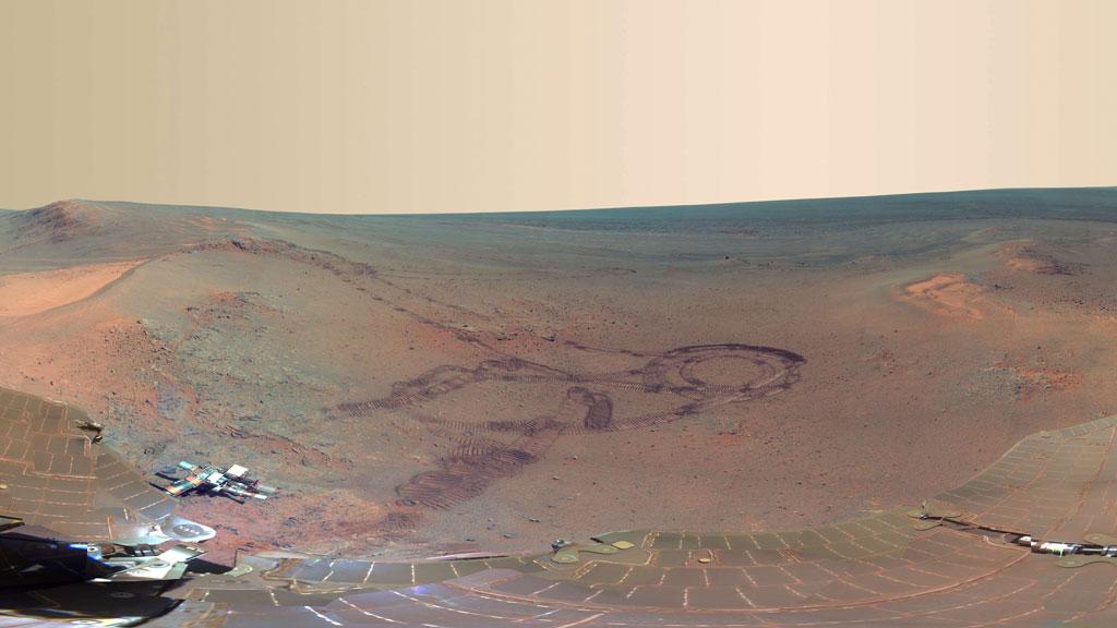 mars pancam (Foto: AFP PHOTO / NASA)