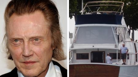 BÅTTUR: Ekteparet Wagners gode venn, skuespiller Christoper Walken, var tilstede den natten Natalie druknet ombord yachten Splendour.
