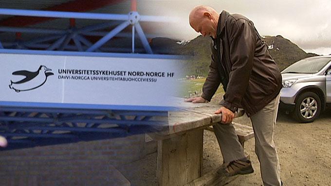 KATETERET BRAKK: Et kateter brakk inne i Knut Borgvatns hjerne under en operasjon på UNN. (Foto: TV 2)
