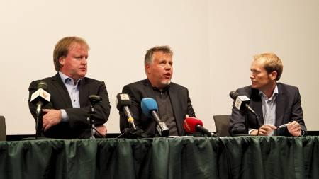 Mulig   kampfiksing i førstedivisjonskampen mellom Ull/Kisa og HamKam (Foto:   Løvland, Marianne/NTB scanpix)