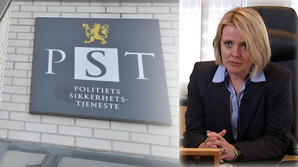 PST-sjef Benedicte Bjørnland. (Foto: SCANPIX / TV 2)