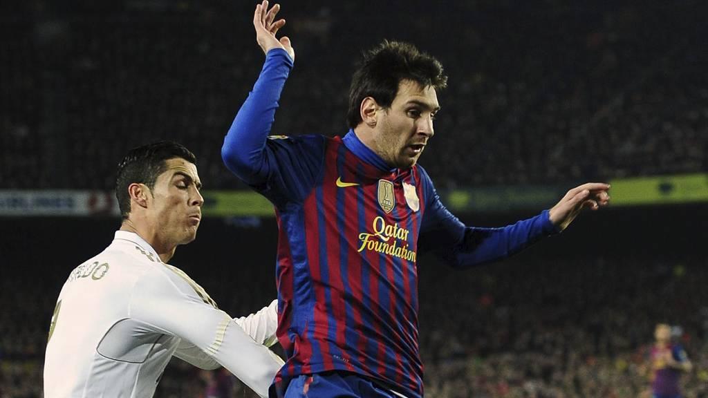 MØTES IGJEN: Ronaldo og Messi. (Foto: Manu Fernandez/Ap)
