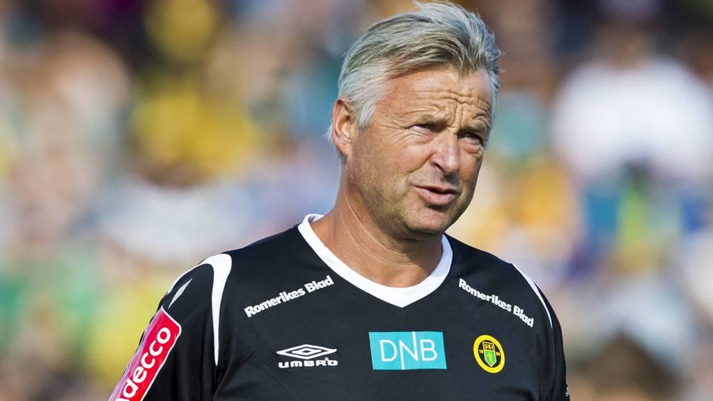 Ullensaker/Kisas trener Arne Erlandsen. (Foto: Grøtt, Vegard/NTB scanpix)