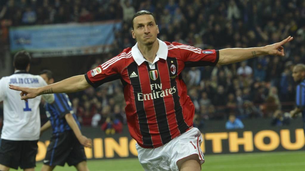 Milan kan bli tvunget til å selge Zlatan Ibrahimovic pågrunn av den økonomiske krisen i klubben.  (Foto: GIUSEPPE CACACE/Afp)