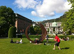 Sommer i Bergen! (Foto: Ronald Toppe)