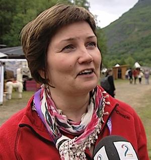 JUBLER: Aili Keskitalo. (Foto: ANDERS MILDESTVEIT, TV 2)