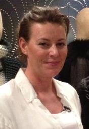 Designer Nina Skarre er spent før utdelingen av designprisen i London. (Foto: Marianne Jemtegård)