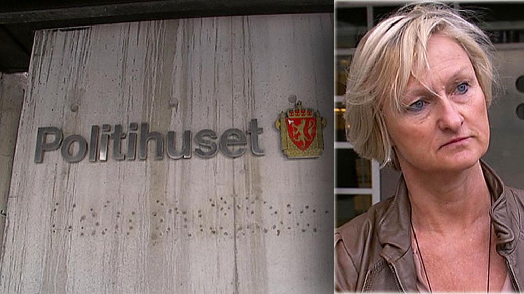 EN SIKTET: Seksjonssjef for finans- og miljøkriminalitet i oslopolitiet,  Gro Smogeli, opplyser at en person er siktet i forbindelse med kampfiksing.  (Foto: TV 2)