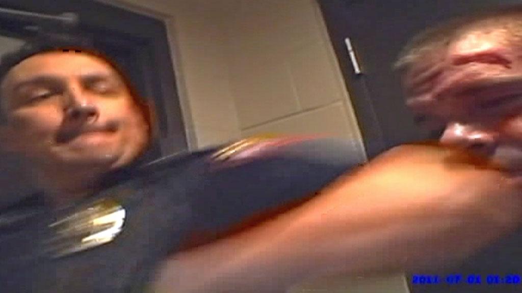 politivold Mike Denton og Bryan Scott Spradlin (Foto: CBS)