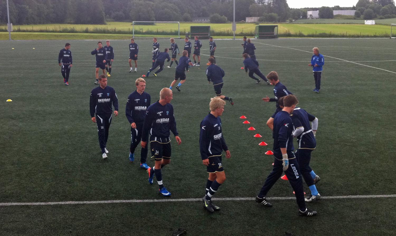 Follo-trening torsdag. (Foto: Kim jarle Johansen)