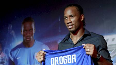 Didier Drogba (Foto: ALY SONG/Reuters)