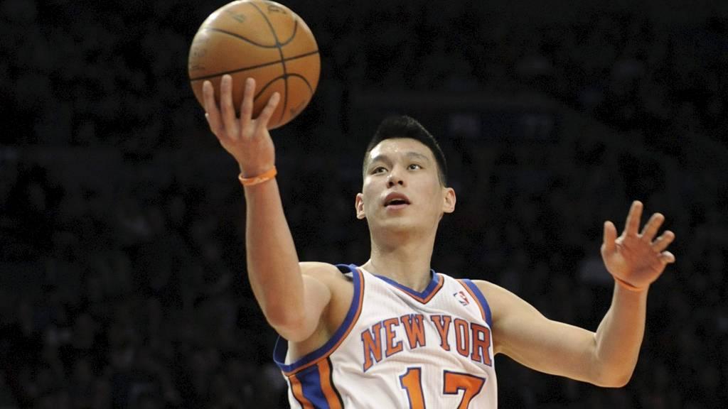 SKIFTER KLUBB: Jeremy Lin. (Foto: Bill Kostroun/Ap)