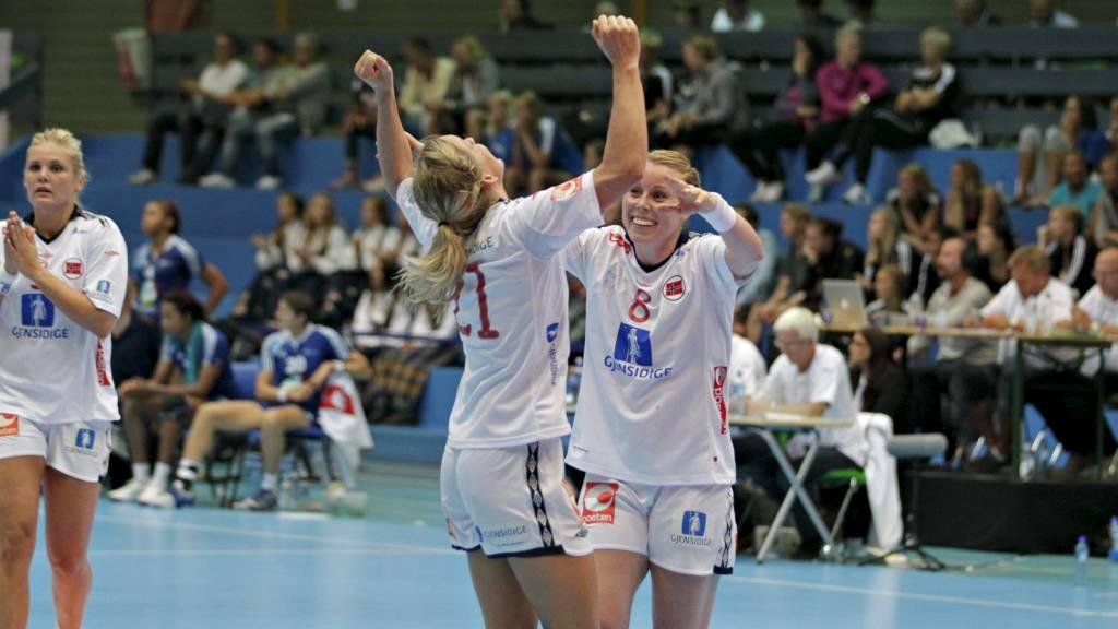 Norge vant over Frankrike og tok dermed sin tredje strake seier. (Foto: Karlsen, Anette/NTB scanpix)
