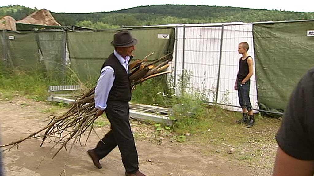 GJERDET INN: Romfolket har holdt seg innenfor avgrensede områder. Det er de hygieniske kårene Oslo kommune nå setter ned foten for.  (Foto: Gisle Bjorå)