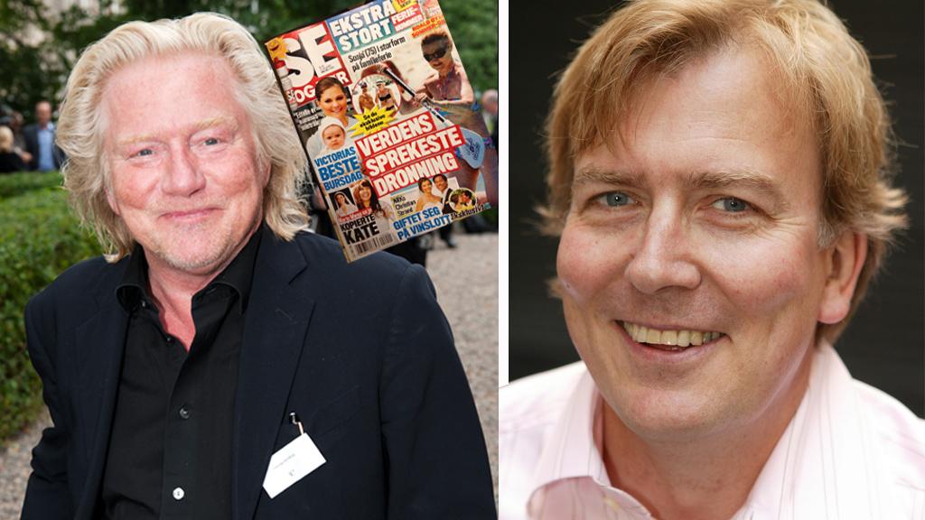 RASER: Fotograf Morten Krogvold raser mot Se og Hørs bilder av kongefamilien på privat ferie.