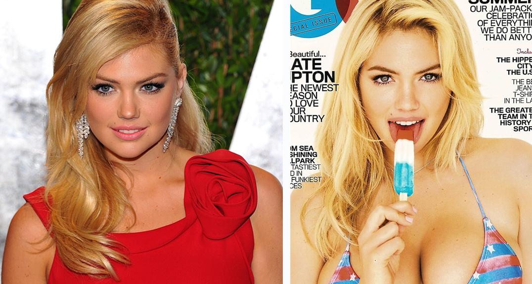 KRITIKK: Sports Illustrated-modellen Kate Upton kritiserer modellbransjen for å glorifisere tynne modeller.
