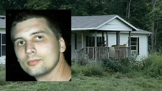 Michael Bayless (innfelt) ble skutt og drept etter en lang dag med oppussing av sitt nye hus. (Foto: WAVE 3/APTN)