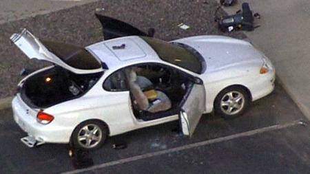 BILEN: Dette er bilen til Holmes.  (Foto: CBS)