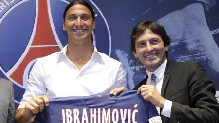 SOLGT TIL PSG: Zlatan Ibrahimovic. (Foto: BERTRAND GUAY/Afp)