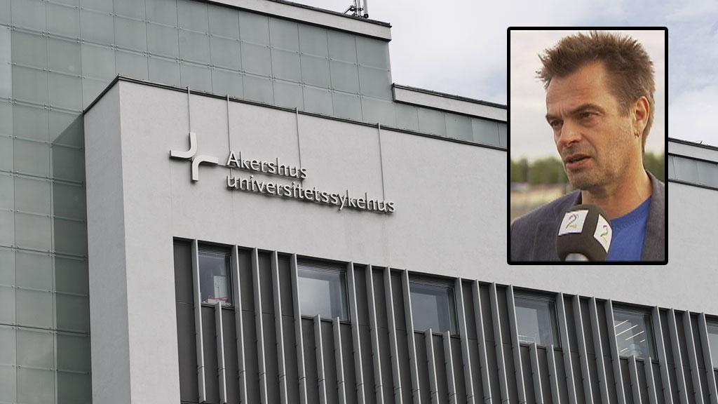 KREVER ETTERFORSKNING: Pasient- og brukerombudet i Akershus, Knut Fredrik Thorne mener det er på høy tid å ta tak i problemene ved Ahus.  (Foto: TV 2)