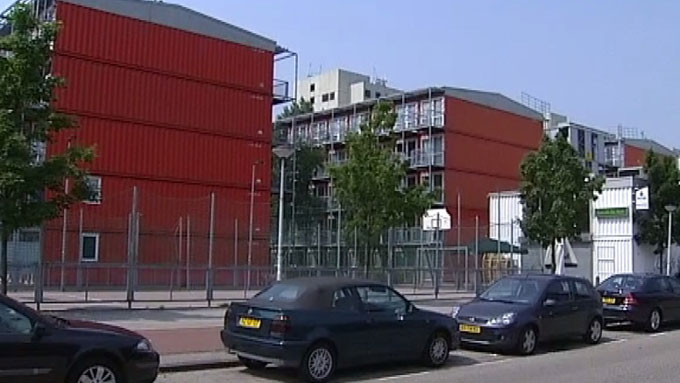 Containerhybel (Foto: TV 2)