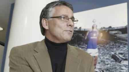 ORDKNAPP: Geir P. Solstad er ordknapp om overgangssummen for Berisha. (Foto: Junge, Heiko/NTB scanpix)