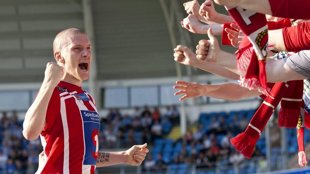 Tromsøs Zdenek Ondrasek har vært svært giftig i år. På bortebane har det dog ikke blitt mange scoringer, men det kan rettes på mot Stabæk i kveld. (Foto: Ekornesvåg, Svein Ove/NTB scanpix)