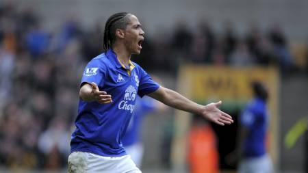 Everton ønsker seg Steven Pienaar og er regnet som favoritter til å signere spilleren.  (Foto: Jon Buckle/Pa Photos)