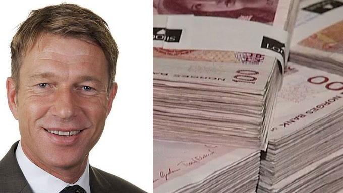 Aps stortingsrepresentant Terje Lien Aasland mener det er galskap at lederlønningen i statseide selskapet fortsette å vokse mange ganger raskere enn den jevne arbeidstakers lønningspose. (Foto: Montasje/TV 2)