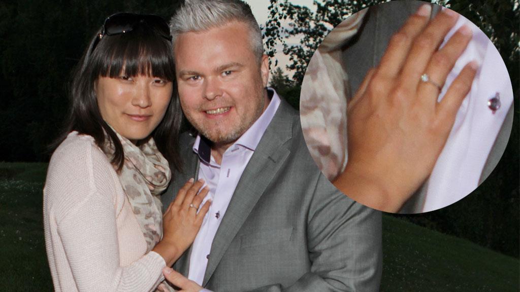 TENKER PÅ BRYLLUP: Rein Alexander forlovet seg med sin Siw Hege Arntsen februar 2012 og forteller nå at han stort sett hele tiden går og tenker på den store bryllupsdagen som kommer i nær fremtid.