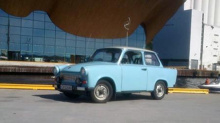 Trabant var i ordinært salg også i Norge på 60-tallet, men like etter at bilrasjoneringen hadde opphørt var ikke en billigbil fra østblokken det som fristet mest. Dagens Trabanter er dermed for det meste adskillig nyere biler som er kommet inn de siste årene. (Foto: Privat)