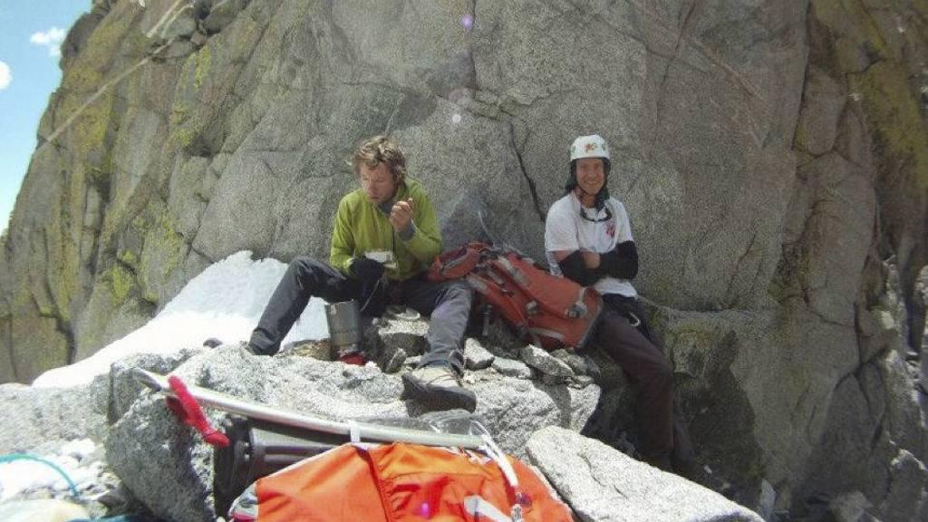 TØFFE FORHOLD: Palcaraju Peak er et risikabelt fjell å klatre, men Gil og Ben var erfarne. (Foto: Ap/Ap)