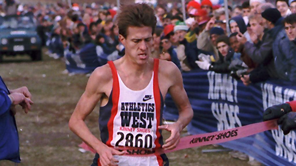 TOPPUTØVER: Pat Porter vant OL to ganger på 10.000 meter. Som senior gjorde han det godt i terrengløp. Her i USA-mesterskapet i 1987. (Foto: Wilbur Funches/ap)