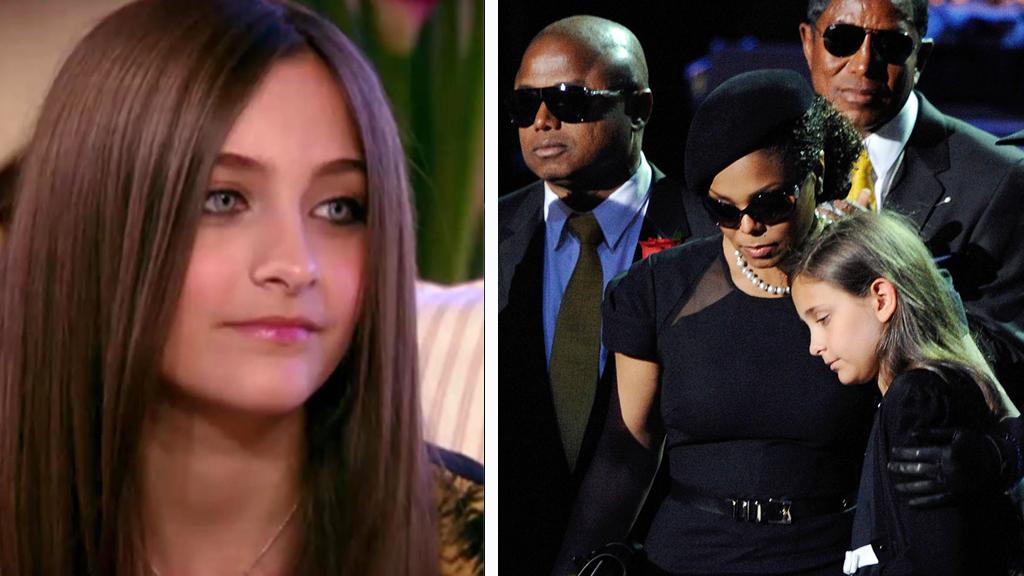 KRANGEL: Paris Jackson skal angivelig ha blitt slått til av tanten Janet Jackson.