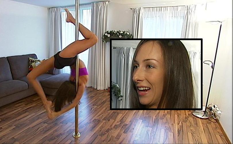 Poledanser Hege Grostad  mener Pole dancing hører hjemme i OL. (Foto: TV 2)
