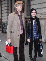 PAPPA: Bob og Pixie Geldof avbildet sammen i 2009. (Foto: Axel, ©ah)
