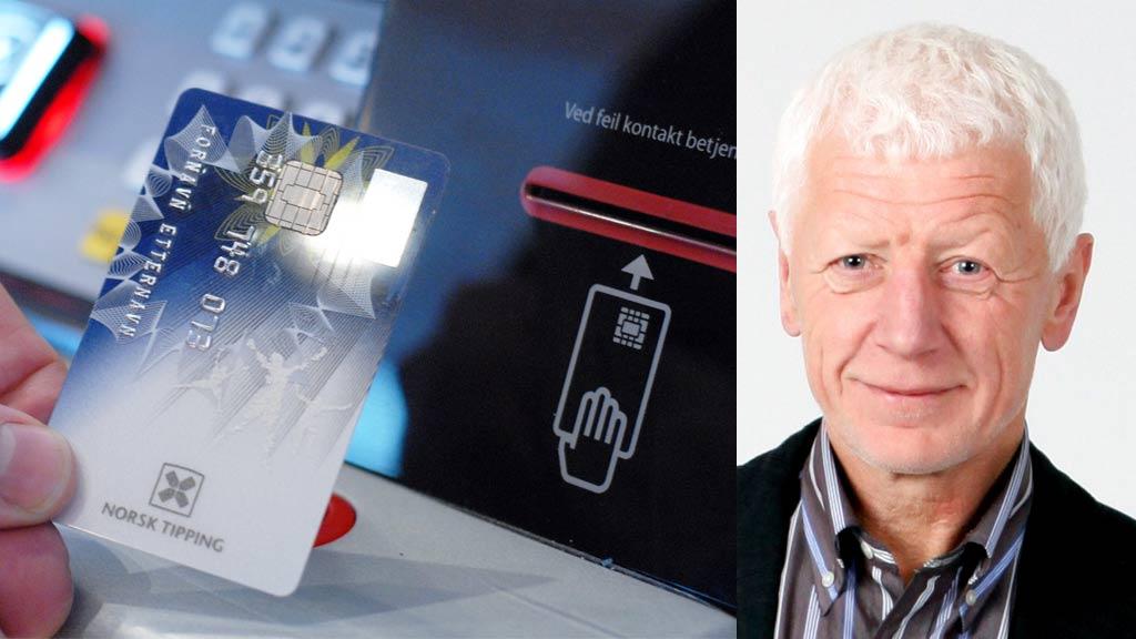 IDENTIFISERING: Einar Busterud i Norsk Tipping sier de ser på flere muligheter når det gjelder å identifisere spillere. Bilder på spillekortet kan være et alternativ. (Foto: Norsk Tipping)