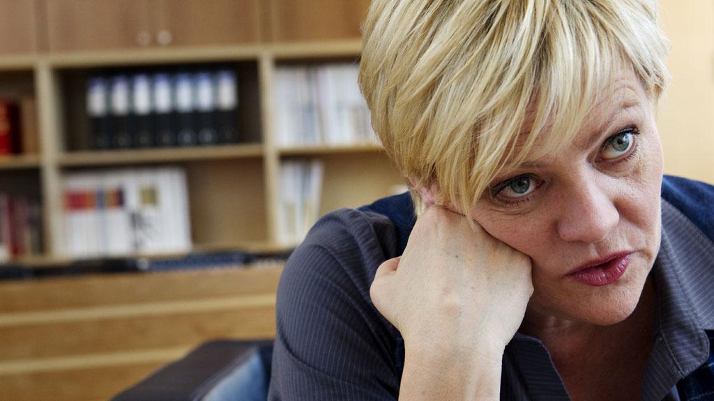 Kunnskapsminister Kristin Halvorsen mener VG skremmer opp foreldrene med sin forside tirsdag. (Foto: Erlend Aas / Scanpix)