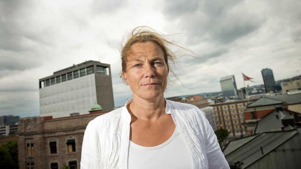 HEMMELIG: Deler av arkivet til 22. juli-kommisjonen, her representert ved leder Alexandra Bech Gjørv, skal låses ned i inntil 30 år. (Foto: Fredrik Varfjell / NTB scanpix)