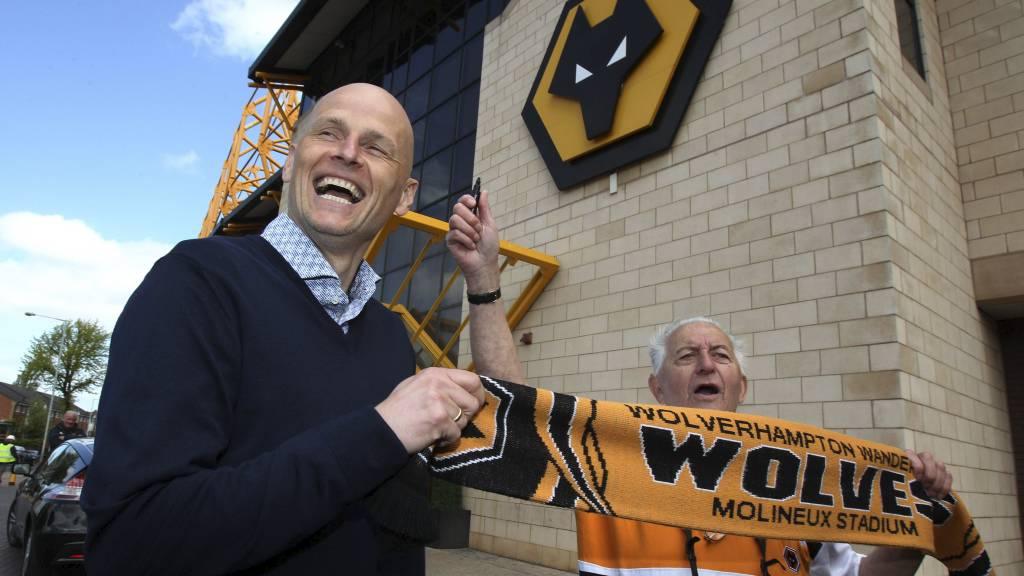 SOLBAKKEN: Ledet Wolves til seier fredag kveld. (Foto: Nick Potts/Pa Photos)