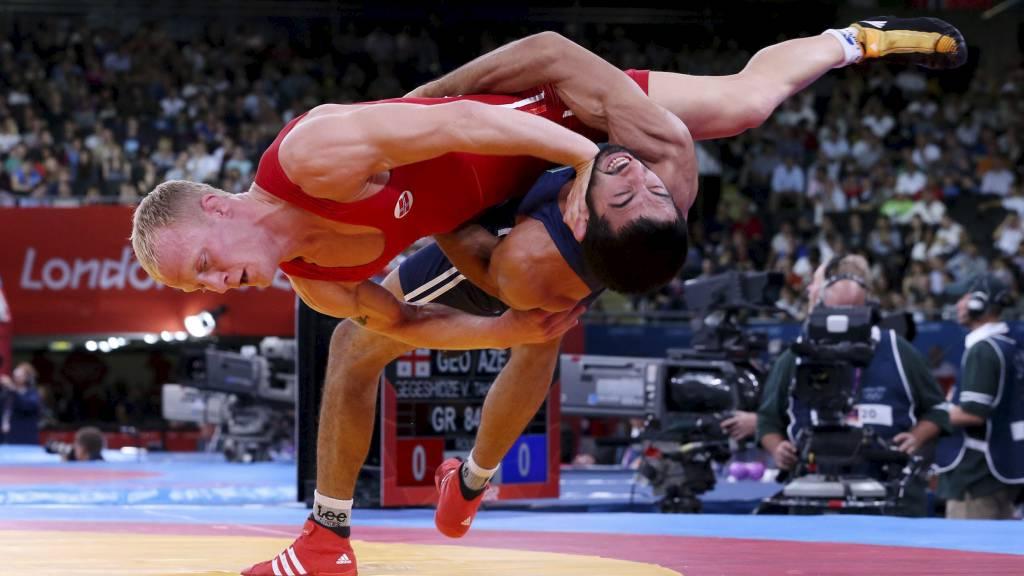 Den norske bryteren Stig Andre Berge under London-OL i 2012. (Foto: Larsen, Håkon Mosvold/NTB scanpix)