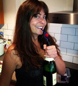 GAMMEL FLAMME: Radioprogramleder Lucy Horobin (32). (Foto: STELLA PICTURES)