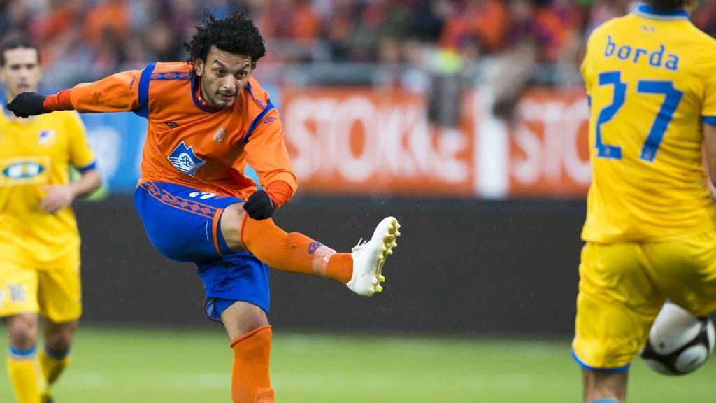 Michael Barrantes mot APOEL (Foto: Svein Ove Ekornesvåg/NTB scanpix)